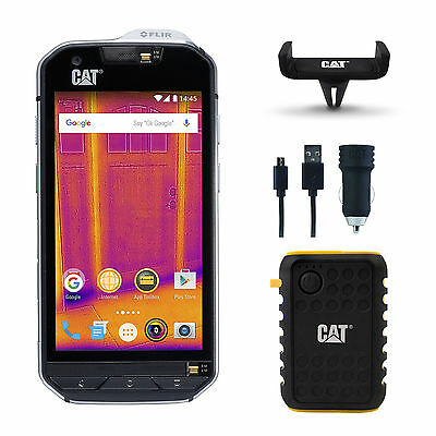 Caterpillar 32GB CAT S60 Waterproof unlocked 4G Smartphone Thermal Camera phone