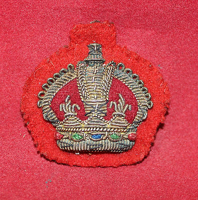 1900-1920era, WO 3rd Class, Gold & Silver Wire, Trade Badge / Flash (inv 7506)