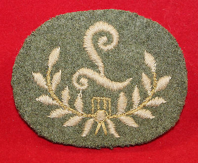 WW1era, Canadian/British Artillery Gun Layer Cloth Trade Badge / Flash(inv 7328)