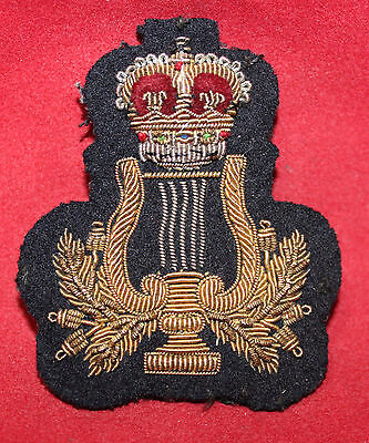 1950-1956 era, Bandsman, Gold Wire, Trade Badge / Flash (inv 7392)