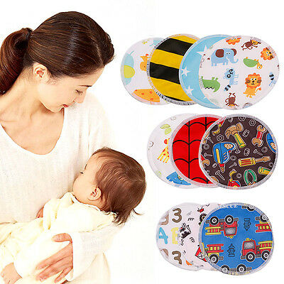 Waterproof 4Pcs Reusable Soft Breast Nursing Feeding Pad Maternity Washable Pads