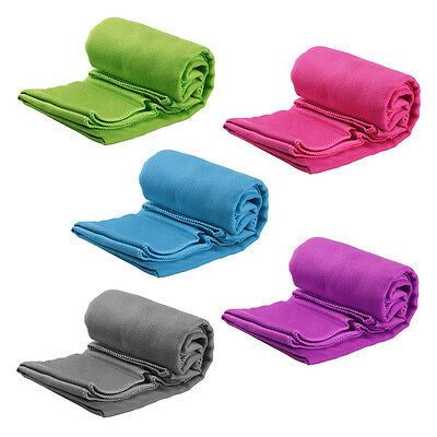 5X Towel Fast Drying Compact Absorbent Sport Travel Bath Car Outdoor Gym Camping