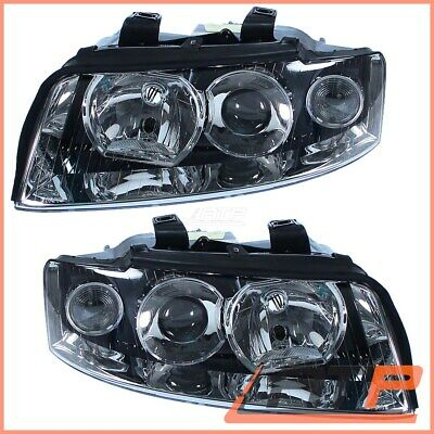 2X Headlamp Headlight H7/h7 Left+Right Audi A4 8E B6 00-04
