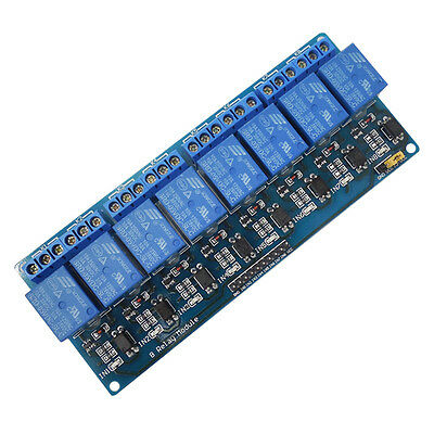 8-Channel 5V Relay Shield Module Board for Arduino UNO 2560 1280 ARM PIC AVR STM