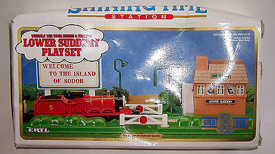 Thomas The Tank Engine Lower Suddery Playset Welcome to the Island of Sodor ERTL