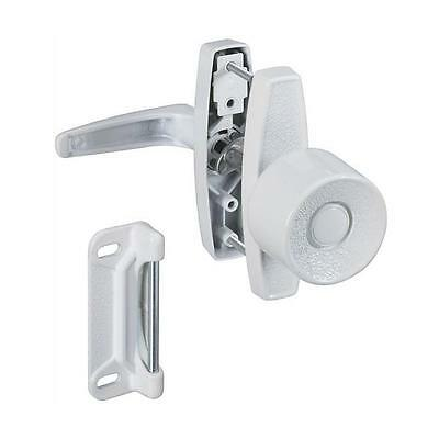 15 Pk White Die Cast Metal Wood Screen Storm Door Handle Knob Latch N212993