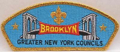 BSA Brooklyn CSP Greater New York Councils SA-10 GNYC Boy Scout Patch 100 Made