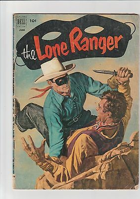 The Lone Ranger #48 1952 G+