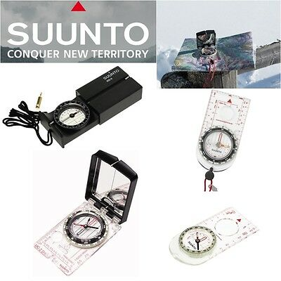 Suunto Magnifying Reading Compass Army Scouts Hiking Camping Map Orienteering