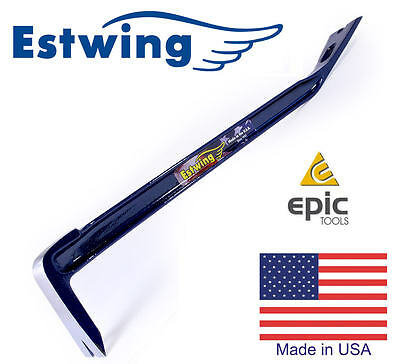"ESTWING PB18 Forged Handy I-Beam 18"" Construction Pry Crow Lever Bar Nail Puller"