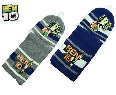 Set invernale sciarpa + cuffia Ben 10 alien force *02077