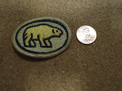 Vintage Golden Bear Patch New Old Stock