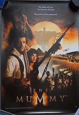 The Mummy (1999) Original US Reg Single Sheet Dble Sided Movie Poster