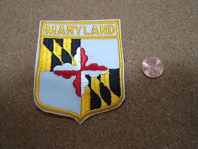 Vintage Maryland State Patch New Old Stock