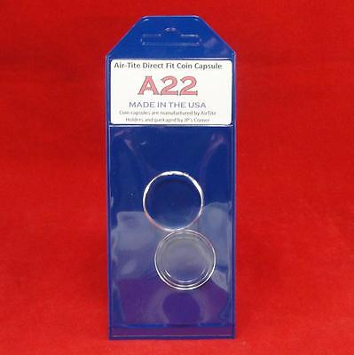 AirTite Direct Fit Coin Holder Capsule - Individual Retail Pkg Model A22 Qty 1