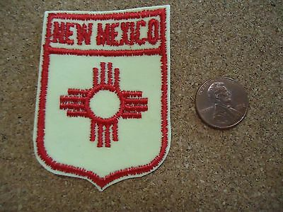 Vintage New Mexico State Patch New Old Stock