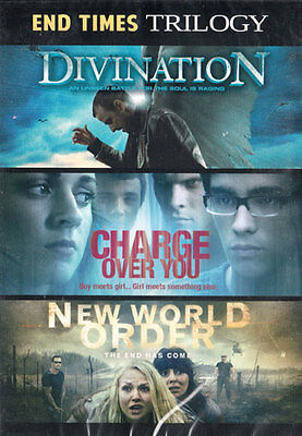 NEW Sealed End Times Trilogy DVD! Divination + Charge Over You + New World Order