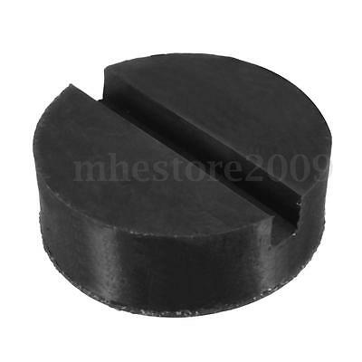 Universal Trolley Floor Jack Disk Pad Adapter Rubber For Pinch Weld Side JackPad