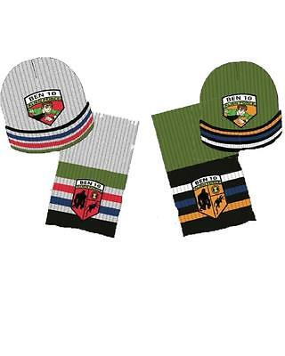 Set invernale sciarpa + cappello a cuffia Bet 10 alien force *09255