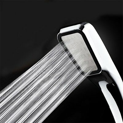 New Water Saving Multi-Function Bathroom Hand Held Shower Head Chrome UR