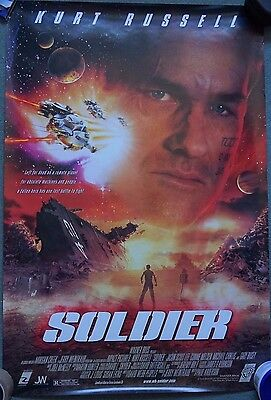 Cinema Poster: SOLDIER 1998 Double sided Kurt Russell Gary Busey