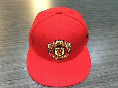Manchester United New Era Hat Cap Premier League Soccer 59FIFTY Fitted 7 Red