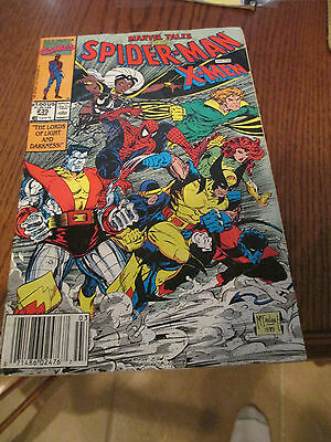 Marvel Tales #235 (Mar 1990, Marvel) Spider-man and the X-Men ( VG )