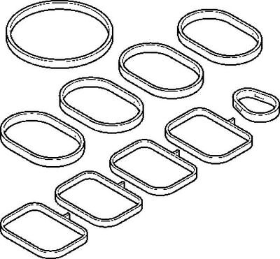 VOLVO S70 874 2.5D Inlet Manifold Gasket 97 to 00 D5252T BGA 9180612 Quality New