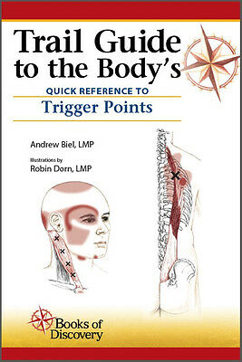 Trail guide to the body anatomy palpation student workbook 5th trail guide to the bodys quick reference to trigger points book fandeluxe Choice Image