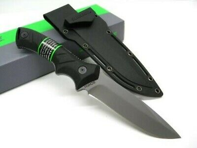 Schrade Tactical Black Full Tang Straight Fixed Survival Knife + Sheath SCHF31