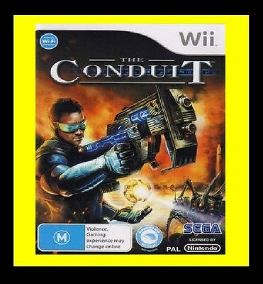 The Conduit Nintendo Wii PAL Brand New SEALED