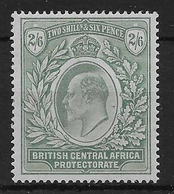 Nyasaland Sg63 1903 2/6 Grey-Green & Green Mtd Mint