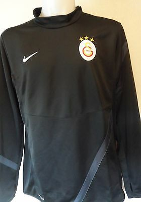 Galatasaray Black Midlayer Top By Nike Size Adults Xxl Brand New With Tags
