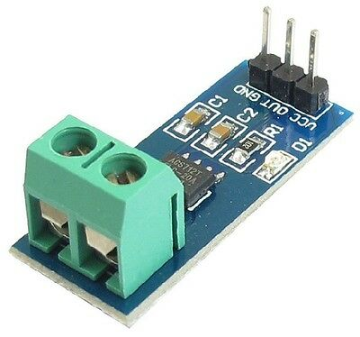ACS712 20A Range Analogue Current Sensor Hall Effect ACS712ELC-20A 5V CHIP 34B