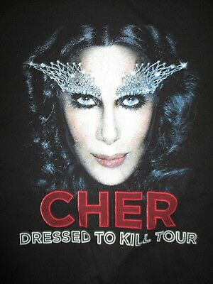"2014 CHER ""Dress To Kill"" Concert Tour (LG) T-Shirt"