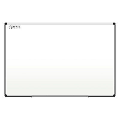 Thornton's Aluminum Frame School Office 36 x 24 Drawing Dry Erase Whiteboard