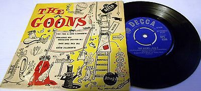 The Goons Self Titled Extended Play 4 Nostalgic Tracks Decca Records 1960