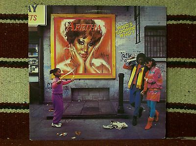 ARETHA FRANKLIN - WHO'S ZOOMIN' WHO? (AL8-8286) Great album in Stereo!
