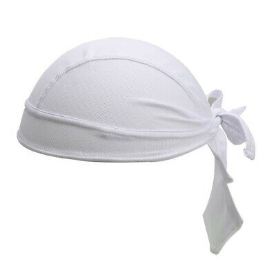 Bandana Micro Mesh with Sweatband Goodstar White