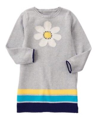 GYMBOREE FLOWER SHOWER WHITE w// DAISY TIGHTS 6 12 24 2T 3T 4T 5T NWT