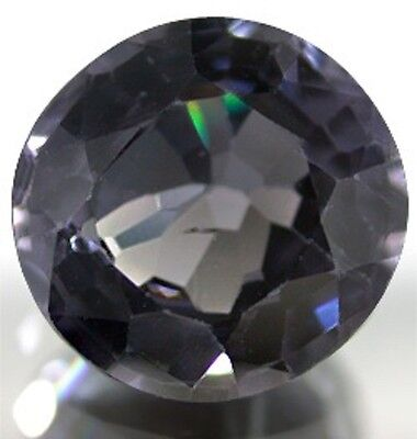Astonishing Deep Gray Natural SPINEL Oval Cut 8X7.7 mm 1.94 Ct.