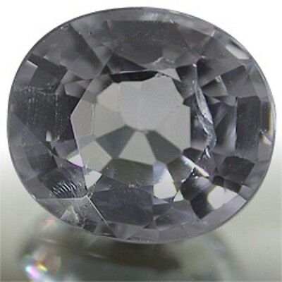 Superb Silver Gray SPINEL Oval Cut 8.5X7.5 mm 2.03 CT.