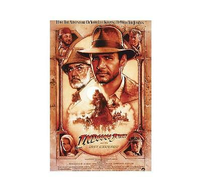 Indiana Jones Poster THE LAST CRUSADE brand new LARGE SIZE 61 cm X 91.5 cm