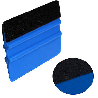 Portable Felt Endge Wrap Wrapping Scraper Squeegee Tool for Car Window Film New