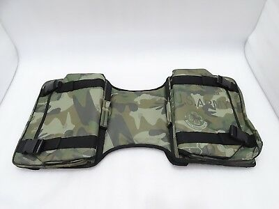Royal Enfield Harley Military Green Side Bag Luggage Water Proof #re63 @pummy