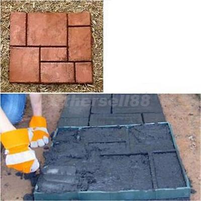 Garden DIY Plastic Path Maker Model Paving Mould Brick Stepping Stone 40cm