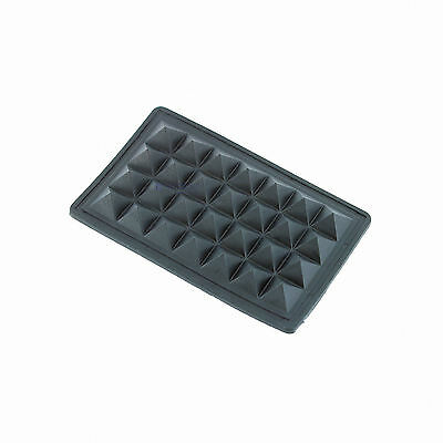 45I-SF03X02-BLK (2) Two Sewable Rubber Bottom Feet (bumpers) for Cases, Bags