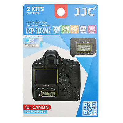 2x LCD Film Screen Display H3 Hard Protection Camera for Canon EOS 1D X Mark II