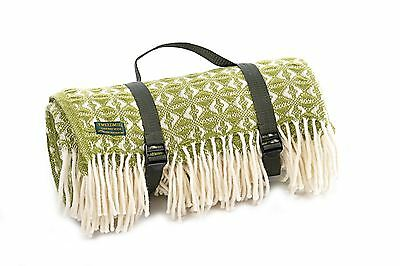 Carrying Strap for picnic blanket throw rug - Black webbing CARRY STRAP ONLY