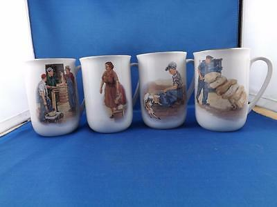 Co-Op Mug Cup Collectable 75Th Anniversary Farm Supply Store Lot Of 4